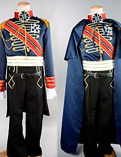 billige Halloweenkostymer-Soldat / Kriger karriere Kostymer Cosplay Kostumer Party-kostyme Herre Halloween Karneval Nytt År Festival / høytid Halloween-kostymer Drakter Lapper / Satin