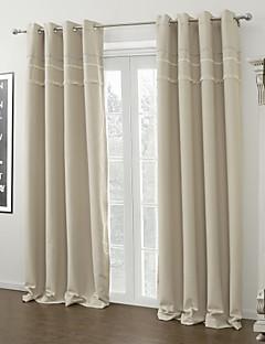 verduisteringsgordijnen gordijnen woonkamer effen polyester verduisterend