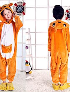 billige Kigurumi-Mote Kigurumi-pysjamas Jente Gutt Festival / høytid Halloween-kostymer Smuk