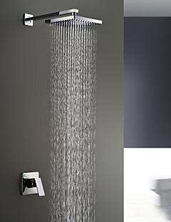 tanie Baterie prysznicowe Sprinkle®-Lightinthrbox Baterie prysznicowe Sprinkle® - Współczesny Chrom Mocowanie ścienne Dwa Otwory