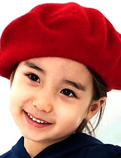 お買い得  子供用アクセサリー-女の子 帽子&キャップ, その他 冬 ブラック フクシャ レッド ブルー キャメル