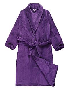 Halat de baie, velur Purple solid Culoare îmbrăcăminte - 2 Dimensiuni disponibile