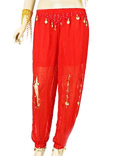 Χαμηλού Κόστους Ρούχα & Παπούτσια Χορού-Χορός της κοιλιάς Παντελόνια Φούστες Γυναικεία Εκπαίδευση Σιφόν Πούλιες Παντελόνια / Αίθουσα χορού