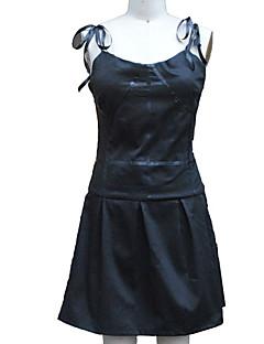 """billige Anime cosplay-Inspirert av Fremtids Dagbok Gasai Yuno Anime  """"Cosplay-kostymer"""" Cosplay Klær Kjoler Ensfarget Ermeløs Kjole Til Dame"""