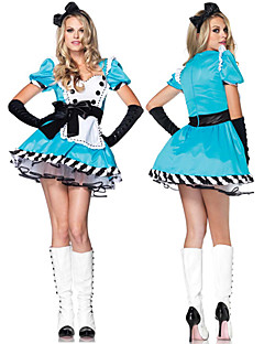 Maid Costumes Career Costumes Cosplay Costumes Party Costume Female Halloween Carnival Festival/Holiday Halloween Costumes Patchwork