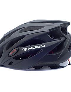 billiga Cykling-MOON Vuxen cykelhjälm 25 Ventiler Stöttålig EPS, PC Vägcykling / Cykling / Cykel / Mountainbike - Svart Herr / Dam