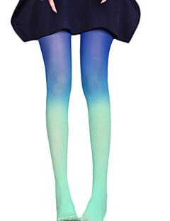 billiga Lolitaaccessoarer-Strumpor / Strumpbyxor Gotisk Lolita Lolita Victoriansk Dam lolita tillbehör Tryck Strumpbyxor Sammet / Hög Elasisitet