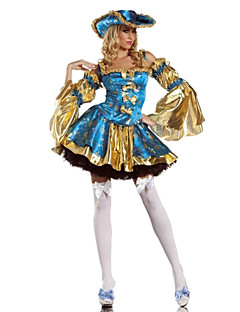 cheap -Pirate Cosplay Costume Party Costume Women's Halloween Carnival Festival / Holiday Halloween Costumes Patchwork