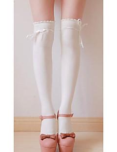 billige Sokker og strømper til damer-Dame Strømper Trykt mønster Normal