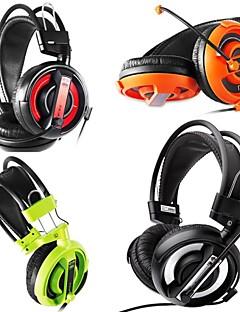 billiga On-ear-hörlurar-007 Hörlurar (pannband) Hörlurar Med rörlig spole Plast Hörlur headset