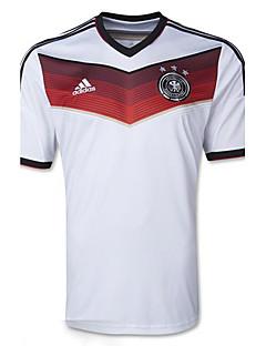 2014 Cupa Mondială Cupa Mondială tricouri Germania joc acasă alb (ClimaCool)