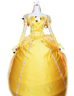 billige Halloweenkostymer-Prinsesse Cosplay Kostumer Party-kostyme Dame Halloween Karneval Festival / høytid Halloween-kostymer Drakter Ensfarget