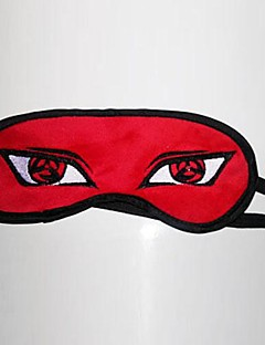 Maske Inspirert av Naruto Hatake Kakashi Anime Cosplay Tilbehør Maske Rød Polar Fleece Mann