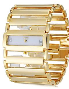billige Armbåndsure-Dame Armbåndsur Japansk Afslappet Ur Rustfrit stål Bånd Luksus / Elegant Sølv / Guld