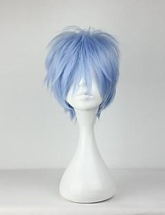 billiga Anime/Cosplay-peruker-Cosplay Peruker Cosplay Kuroko Tetsuya Animé Cosplay-peruker 12 tum Värmebeständigt Fiber Herr halloween Peruker