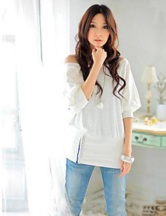 Women's Off The Shoulder Trendy OFF-Shoulder Cotton Blends Top T-Shirt