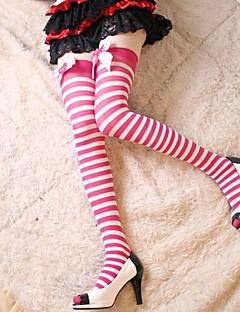Ponožky a punčochy Sweet Lolita Lolita Princeznovské Lolita Příslušenství Punčocháče Mašle Jednobarevné Pro Nylon