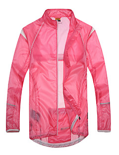 cheap Cycling Jackets-SANTIC Cycling Jacket Women's Long Sleeves Bike Jacket Ultraviolet Resistant Jacket Top Bike Wear Waterproof Quick Dry Windproof Wearable