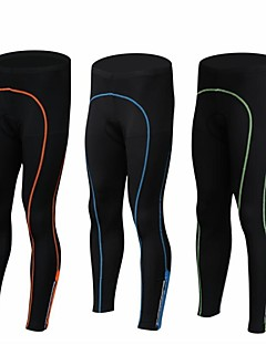cheap Cycling Clothing-Men's Bike Tights / Pants / Trousers / Bottoms Quick Dry, Breathable Spandex, Polyamide Black / Green / Black / Blue / Black / Orange