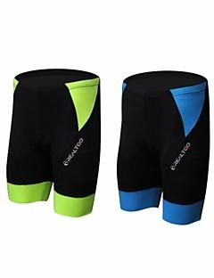 billige Sykkelklær-Unisex Sykkel Shorts Fort Tørring, Pustende Spandex, Polyamid Grønn og Svart / Blå og svart Sykkelklær