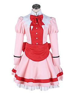 """billige Anime Kostymer-Inspirert av Svart Tjener Elizabeth Anime  """"Cosplay-kostymer"""" Cosplay Klær Lapper Halsklut / Kjole Til Dame"""