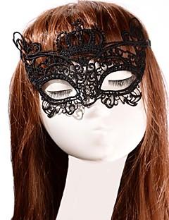 Cosplay Mască Unisex Halloween Festival/Sărbătoare Costume de Halloween 纯色 Dantelă