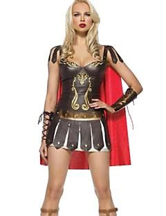 billige Halloweenkostymer-Romerske Kostymer Cosplay Kostumer Party-kostyme Dame Halloween Festival / høytid Halloween-kostymer Drakter Lapper