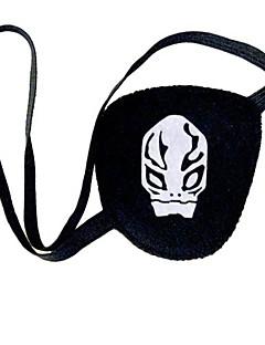 Maske Inspirert av Gjenfødt! Cosplay Anime Cosplay Tilbehør Maske Svart Polar Fleece Kvinnelig