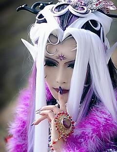 billiga Anime/Cosplay-peruker-Cosplay Peruker Cosplay Cosplay Vit Animé Cosplay-peruker 40 tum Värmebeständigt Fiber Dam halloween Peruker