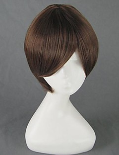 cheap Anime Cosplay Wigs-Cosplay Wigs Cosplay Haruhi Fujioka Anime Cosplay Wigs 35 CM Heat Resistant Fiber Men's