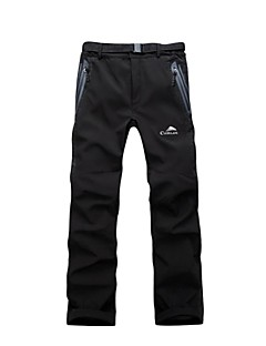 Men's Women's Softshell Pants Waterproof Thermal / Warm Windproof Rain-Proof Waterproof Zipper High Breathability (>15,001g) Breathable