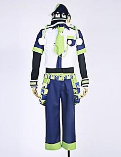"""billige Anime Kostymer-Inspirert av Dramatical Murder Noiz Anime  """"Cosplay-kostymer"""" Cosplay Klær Lapper Trøye / Bukser / Ermer Til Herre Halloween-kostymer"""