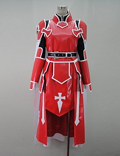 """billige Anime Kostymer-Inspirert av Sword Art Online Cosplay Anime  """"Cosplay-kostymer"""" Cosplay Klær Lapper Langermet Frakk / Trøye / Bukser Til Herre"""