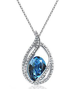 Cousri Women'S Korean Crystal Necklace