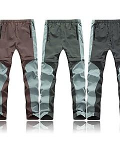 男性用 ハイキング パンツ アウトドア 速乾性 フロントファスナー 高通気性 パンツ のために キャンピング&ハイキング 釣り ランニング