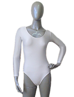 billiga Basis-dansetøj-Balett Trikåer Dam Träning Prestanda Nylon Lycra Trikå / Onesie