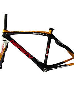 Χαμηλού Κόστους Ποδηλασία-Πλαίσιο Δρόμου Πλήρης Άνθρακας Ποδήλατο Κορνίζα 700C Γυαλιστερό 3 K cm ίντσα
