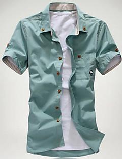 6a62ce8e473 Pánské - Jednobarevné Větší velikosti Košile