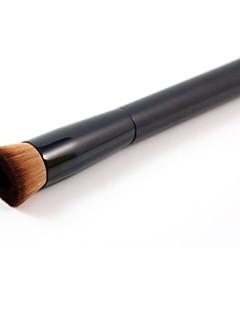 billiga Sminkborstar-1pcs Makeupborstar Professionell Foundationborste Nylonborste Professionell Mellanborste