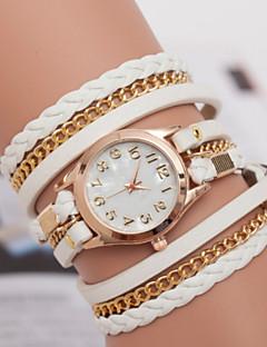 Women's Watch Marble Mirror Diamond Ladies Bracelet Watch Hand Woven Three Ring Winding Watch Retro Cool Watches Unique Watches