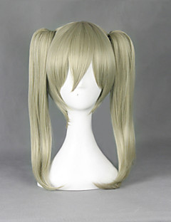 cheap Anime Cosplay-Cosplay Wigs SoulEater Maka Albarn Anime Cosplay Wigs 45 CM Heat Resistant Fiber Men's Women's