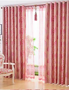 verduisteringsgordijnen gordijnen woonkamer linnen print verduisterend