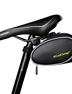 billiga Cykling-CoolChange 4 L Sadelväska Vattentät, Fuktighetsskyddad, Bärbar Cykelväska TPU Cykelväska Pyöräilylaukku Cykling / Cykel
