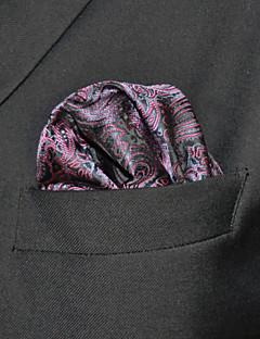 olcso -hh17 shlax&szárny Paisley sötét lila zseb téren férfi zsebkendőjét hanky zsebkendőt