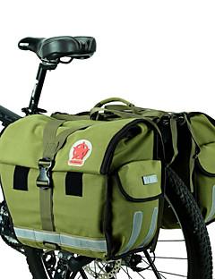cheap Bike Bags-ROSWHEEL Bike Bag 45L Panniers & Rack Trunk Moistureproof/Moisture Permeability Waterproof Waterproof Zipper Wearable Bicycle Bag Canvas