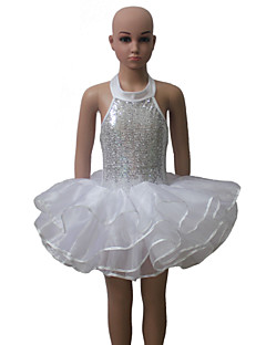 tanie Stroje baletowe-Balet Tutus Damskie Dla dzieci Wydajność Trening Nylon Tiul Lycra 1 sztuka Tutu
