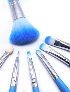 billige Sminkebørstesett-6pcs Makeup børster Profesjonell Rougebørste / Øyenskyggebørste / Leppebørste Syntetisk hår Bærbar / Reisen / Økovennlig Tre