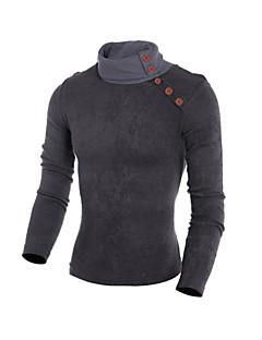 tanie Męskie swetry i swetry rozpinane-Męskie Okrągły dekolt Długi Pulower Wzór zwierzęcy