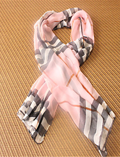 Ms. Qiu Dong Plaid Scarves Shawls And Super Long Lattice Chiffon Scarves Of England
