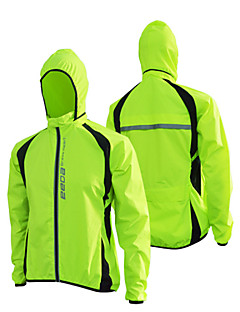 cheap Cycling Clothing-Cycling Jacket Unisex Bike Windbreaker Jacket Top Winter Bike Wear Waterproof Rain-Proof Patchwork Camping / Hiking Fishing Exercise &